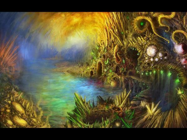 Magic Kingdom Of Driads, Magical Landscapes 1