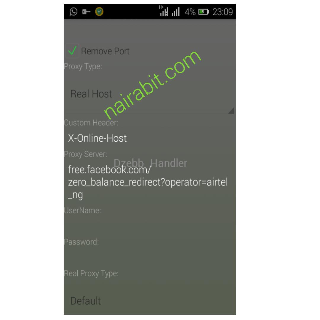 Nairabit vpn for airtel