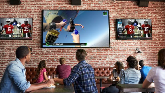 Atmosphere: TV Streaming for Commercial Facilities