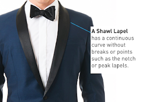 shawl lapel james bond