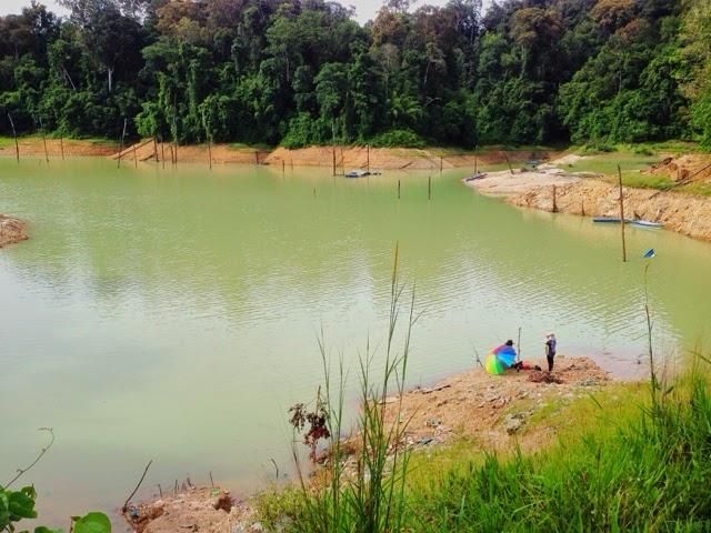 Fishing near Jetty Charok Air Keruh