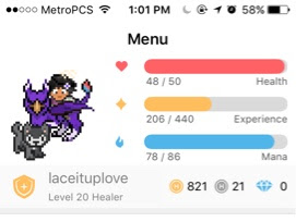 USING HABITICA (AGAIN) TO STAY ON TRACK