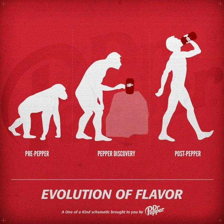 Evolution Of Flavor by Dr. Pepper