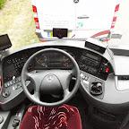 Het dashboard van de Mercedes Tourismo van Tijlcars Turnhout (B)