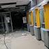 Oeste: três agências bancárias foram destruídas por quadrilha fortemente armada