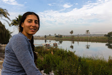 Enjoying the Nile in Minya