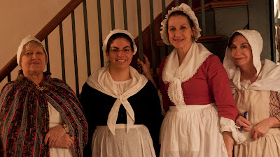 few colonial women,,,aja tavern wenches.Photos by TOM HART