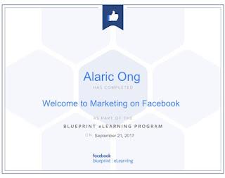 Alaric Ong, Facebook Expert
