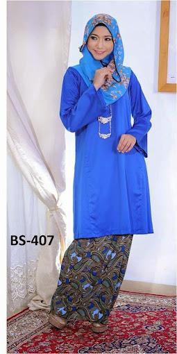 baju raya 2014 baju kurung online murah baju mini malaysia biru