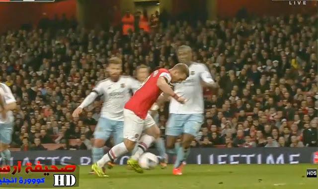 Podolski, Arsenal - Westham
