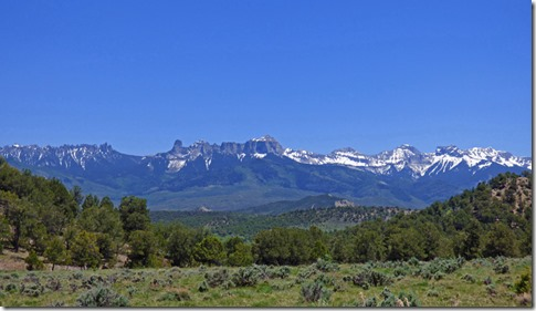 Cimarron Range of the San Juan Mountains, Colorado