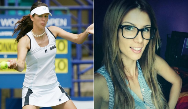 Sexy tennis girls