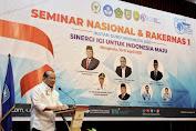 Ketua DPD RI Sampaikan 7 Harapan untuk IGI dalam Seminar Nasional di Rakernas IGI di Bengkulu