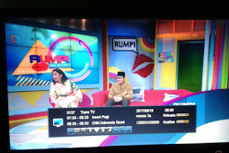 Frekuensi Trans TV HD di Mesasat 3A 91.5°E (Ku-Band)
