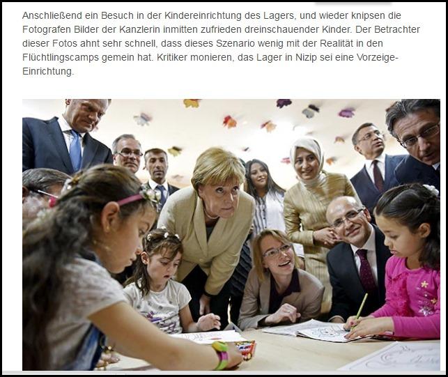 Im Flüchtlingskindergarten mit Angie