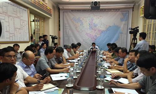Bao Kujira gay mua lon khi do bo vao Quang Ninh  1