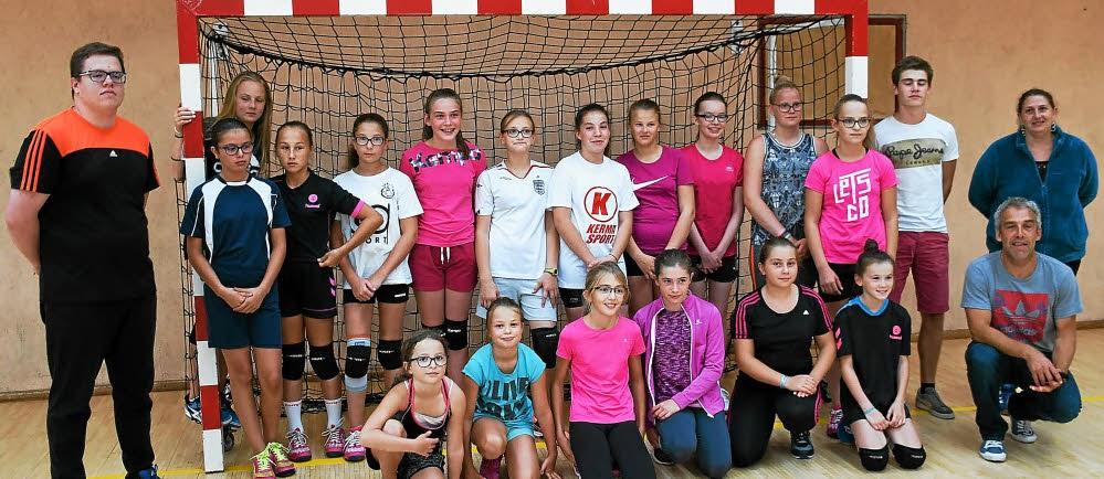 Il n'y aura que des équipes filles en compétition dans les catégories de jeunes