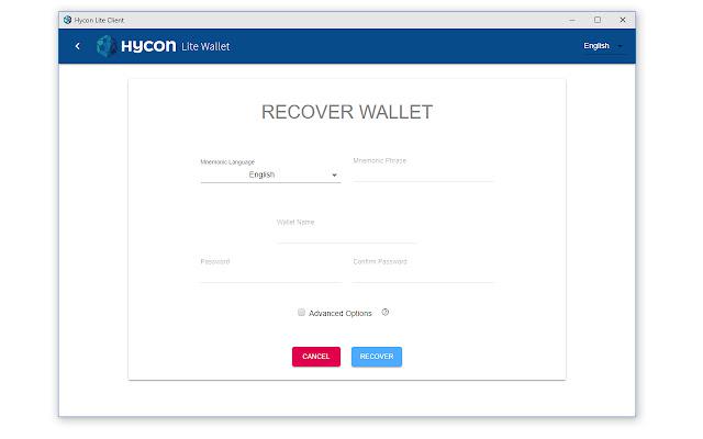 Hycon Lite Client