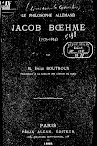 Le Philosophe Allemand Jacob Boehme (1888,in French)