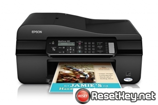 Reset Epson WorkForce 320 printer Waste Ink Pads Counter