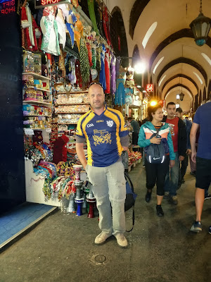 Brosantbrieg - Istambul -bazar