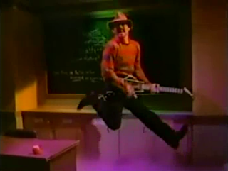 Yours Truly doing his best Pete Townsend guitar leap.