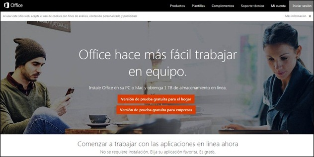 Abrir mi cuenta Microsoft Office Online