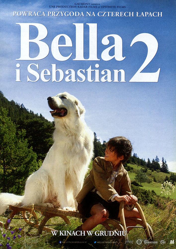 Ulotka filmu 'Bella i Sebastian 2 (przód)'