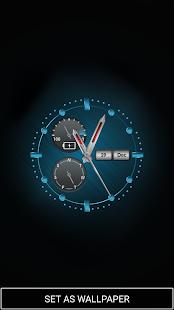 Background Clock Wallpaper - náhled