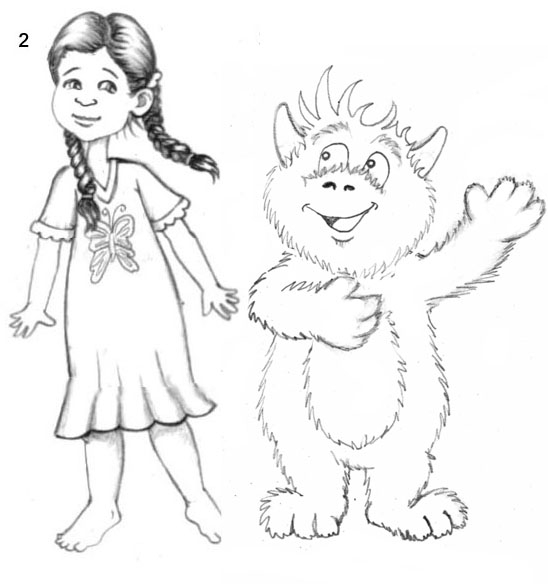 Children S Book Character Design : Mg children s book illustrations character designs for