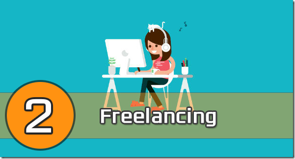 students can make money doing freelancing