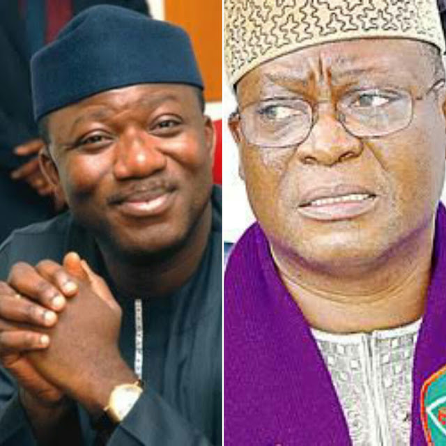 Image result for fayemi and adeyeye