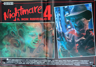 Italian Lobby card Nightmare 4 3 of 6  26x19 #1
