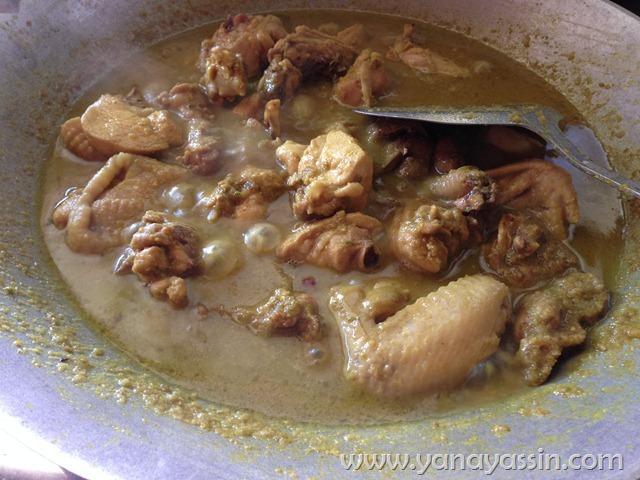 resepi ayam masak ungkep mudah yana yassin Resepi Ayam Masak Lemak Ketumbar Jintan Enak dan Mudah