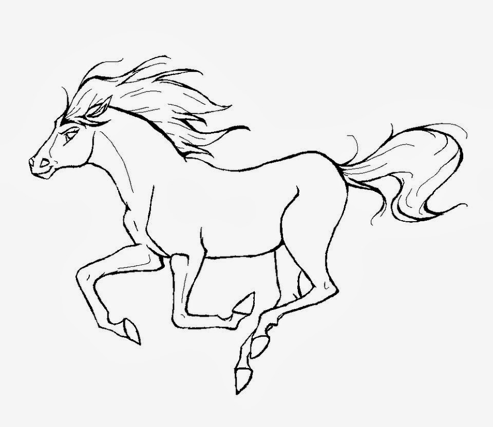 We have selected the best free horses coloring pages to print out and color. Horses Coloring Pages Printable