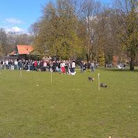 Eierengooien op 1e paasdag 2012
