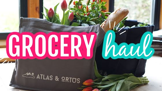 Grocery Haul - YouTube Thumbnail Template