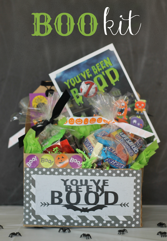 boo kit for halloween