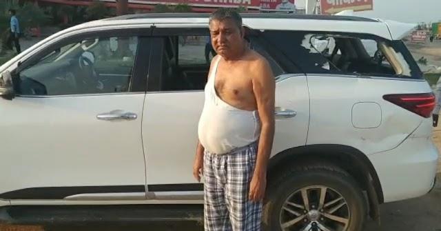 सैनिक कल्याण बोर्ड के पूर्व अध्यक्ष प्रेम सिंह बाजौर पर हमला, कार में की तोड़ फोड़, कपड़े तक फाड़े