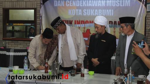 Pernyataan sikap Ulama dan MUI Kota Sukabumi terkait isu People Power