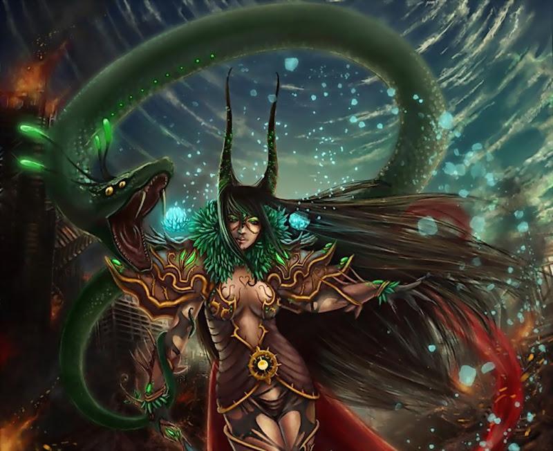 Snake Queen Of Universe, Fairies 4