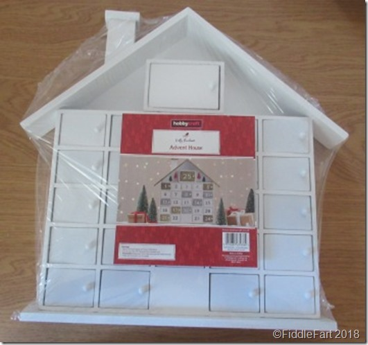 Hobbycraft Advent HOuse.