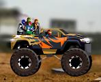العاب سيارات روان , لعبة شاحنات القمة 3