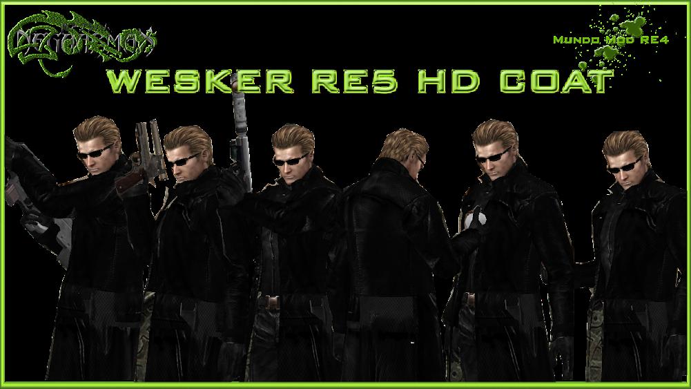 [MOD] Paquete Albert Wesker RE5 HD 1
