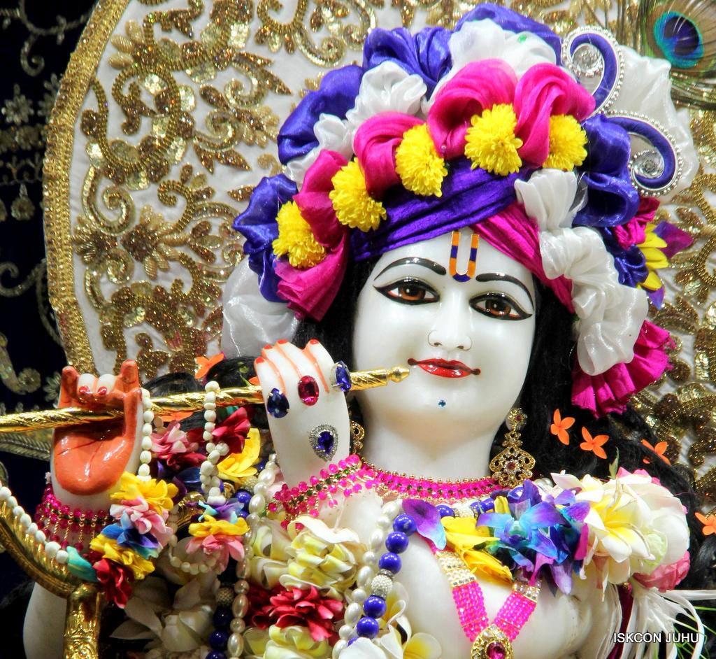 ISKCON Juhu Sringar Deity Darshan on 24th Oct 2016 (14)