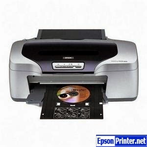 How to reset Epson R800 printer