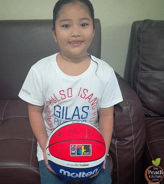 Gilas Pilipinas T-Shirt and Gilas Pilipinas Basketball