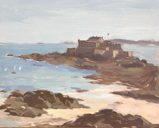 #187 'Fort National, St Malo' 8×10″
