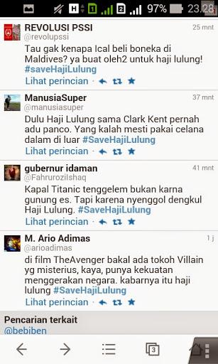 Twitter bikin ngakak tentang Haji Lulung