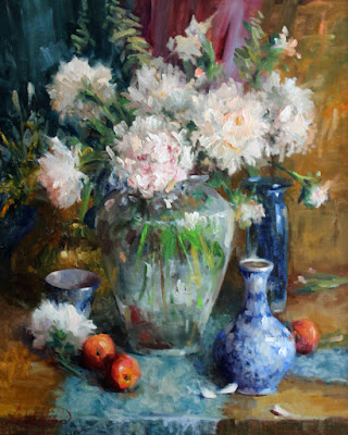 """Bouquet of Peonies"""